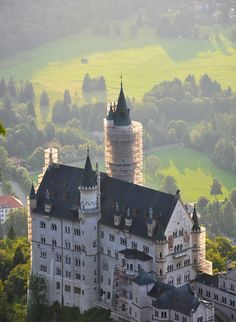 Castillo de Neuschwanstein, Schwangau, Alemania