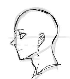 Drawing Body Poses, Body Reference Drawing, Drawing Reference Poses, Hair Reference, Drawing Heads, Drawing Base, Anatomy Drawing, Anatomy Art, Manga Drawing Tutorials