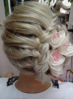 All interesting…: haircuts - Modern Messy Hairstyles, Pretty Hairstyles, Wedding Hairstyles, Pagent Hair, Prom Hair, Love Hair, Hair Today, Hair Dos, Hair Designs