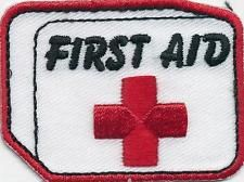 Boy Girl Cub FIRST AID KIT class training Fun Patches Crests Badges GUIDE SCOUT