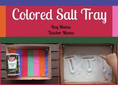 Boy Mama Teacher Mama | Colored Salt Tray