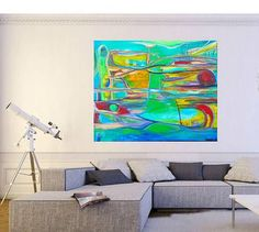 ABSTRACT, Large Abstract Painting, Wall Art, Large Art, Paintings on Canvas, Original Art, Art, Paintings, Art Deco, Acrylic Paintings, Art