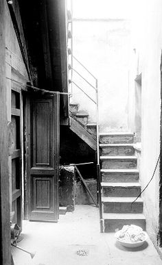 1920 Escaleras de una vecindad