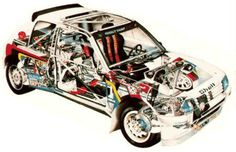 Peugeot 205 Turbo 16 Carros Suv, 205 Turbo 16, Cutaway, Car Colors, Car Posters, Performance Cars, Rally Car, Car And Driver, Peugeot 205