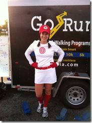 AAGPBL Running Costume - Rockford Peaches from A League of Their Own!