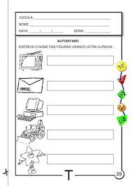 Resultado de imagem para atividades letra t educação infantil