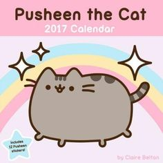 The Pusheen 2017 Wall Calendar features adorable Pusheen the Cat artwork for each month of the year and a sheet of twelve Pusheen stickers. An internet phenom with over 980,000 blog followers and near