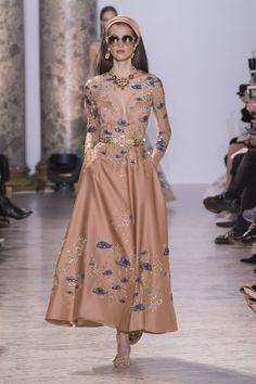 All the Looks from the Elie Saab Spring-Summer Couture 2017 Collection  - ELLE.com