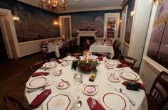 A gorgeous room and wedding reception setting at Mount Vernon Inn! {Mount Vernon Inn}