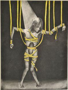 eating disorder art - Google Search