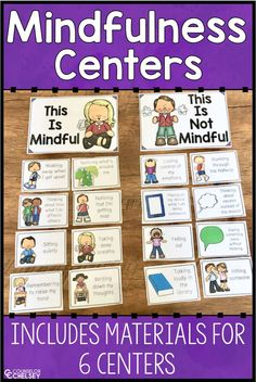 Mindfulness Centers — Counselor Chelsey Mindfulness Centers — Counselor Chelsey,Mindfulness kids Related posts:Teaching Character Traits in Reading - EducationBuilding Social and Emotional Skills at Home Social Skills Games, Coping Skills Activities, Social Emotional Activities, Social Skills For Kids, Teaching Social Skills, Teaching Reading, Mindfulness For Kids, Mindfulness Activities, Mindfulness Practice