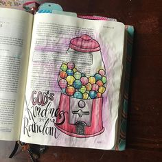 Bible Journaling by Nichole @goosekeeperphoto | Titus 3:4-7