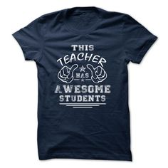 "Teacher Awesome. "" Special Tee For Teacher _ Wear this tee with pride ""."