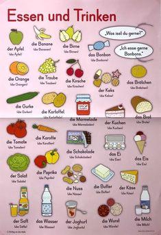 Study German, Learn German, German English, German Language Learning, Learn A New Language, Learning Spanish, German Grammar, German Words, Deutsch A2