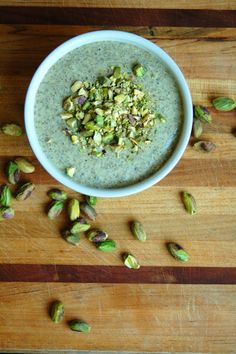 For the Love of Leaves: Pistachio Chia Pudding (Vegan, Gluten Free)