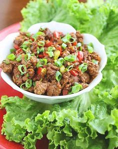 Asian Beef Lettuce Wraps | 23 Super Satisfying Low-Carb Dinners