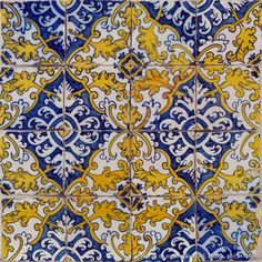 azulejaria portuguesa Handmade tiles can be colour coordinated and customized re. shape, texture, pattern, etc. by ceramic design studios