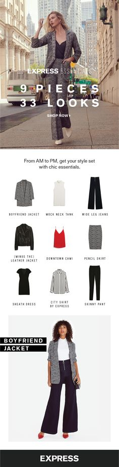 Your ultimate capsule wardobe checklist for fall is only 9 pieces long! - Business Outfits for Work Dress Code, Business Casual Outfits, Business Wear, Cute Fall Outfits, Work Attire, Capsule Wardrobe, Autumn Winter Fashion, Dress To Impress, Fashion Outfits