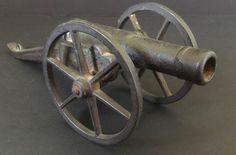 1888 Signal Cannon Cast Iron Miniature Breech Loading Toy Civil War AP1032