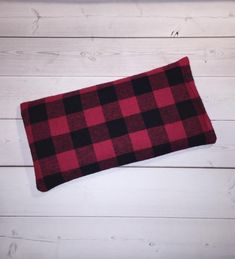 plaid Flax Heat Pack - flannel Microwave Heating Pad Heat Pads aromatherapy yoga mask - spa sleep re