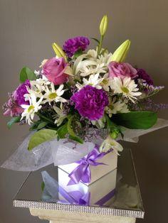 Purples arrangement