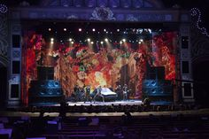 Project Archive + News : Page 2 of 6 : K Brandon Bell : digital media design & development Radio City Music Hall, Hedwig, Stage Set, Building Design, Over The Years, Scenery, Nyc, Set Design, Theater