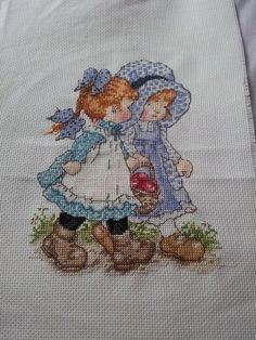 Sarah Kay cross stitch. Stitched by me - Miss Auty 2009