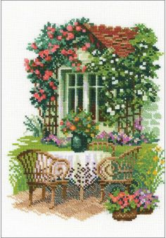 Morning In The Country - Cross Stitch Kit