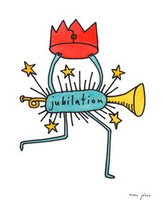 jubilation (Art Print by Marc Johns)