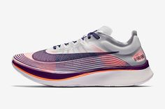 1aad8946385492 Nike s Zoom Fly Peacocks in Purple - Sneaker Freaker