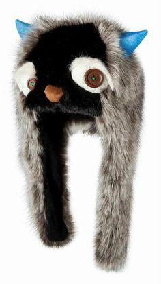 Harige #muts van #Barts met #oorflappen en snuit van een 'Eng #beest'. - Gespot op Bambini.com