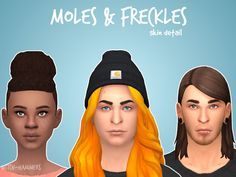 Sims 4 CC's - The Best: Freckles and Moles by Witch-Hammers