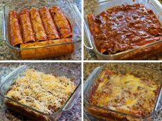 Beef Enchiladas made with leftover smoked brisket. Beef Brisket Enchiladas are the best use for leftover brisket (though any cut of beef works great too). Mexican Food Recipes, Beef Recipes, Cooking Recipes, Mexican Dishes, Brisket Enchiladas Recipe, Left Over Brisket Recipes, Leftover Brisket, Smoked Beef Brisket, Good Food