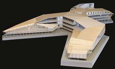 "2,644 Likes, 4 Comments - rchitectural Platform  (@arch_impressive) on Instagram: ""Architectural #Maquette  Nice Design #arch_impressive Follow @arch_impressive for more .."" Science Centre Architecture, Eco Architecture, Concept Architecture, Mix Use Building, Plaza Design, Hospital Design, Arch Model, Concept Diagram, Design Model"