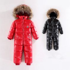 2015 Baby boys winter thick rompers baby girls snowsuit coat kids outerwear clothes children Solid jumpsuit infant costume SmsAliexpress #smsaliexpress