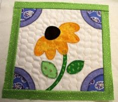 garden block of the month quilts - Google Search