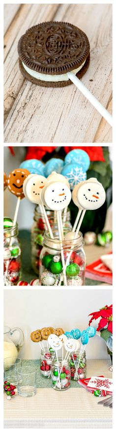 Holiday OREO Cookie Pops #ad