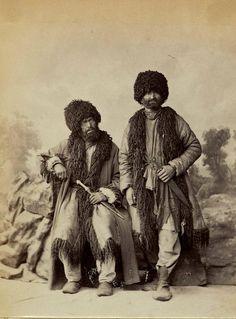 Кавказские горцы. Российская империя. 1890-е.