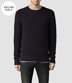 ALLSAINTS: Men's Knitwear, Jumpers, Hoodies, Men's Cardigans & More