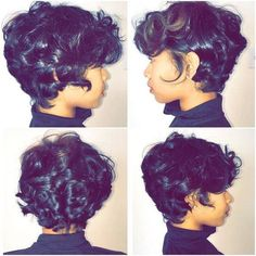 Bob hairstyles are a classic look that has been in fashion for ages, and is sure to continue to be popular look for many years to come! It can be bold, wild and bold look for those who are not afraid to… Continue Reading → Hair Styles 2016, Curly Hair Styles, Natural Hair Styles, Cut My Hair, Her Hair, Pretty Hairstyles, Bob Hairstyles, Haircuts, Hairstyles Videos