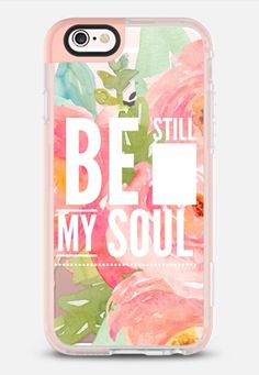 Be Still My Soul Floral iPhone 6s case by Jande Laulu | Casetify