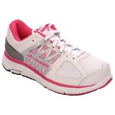 69f169f3aedc Hylan iRunner Miya Womens Therapeutic Athletic Extra Depth Shoe  LeatherandMesh Lace White and Pink 95 XWide