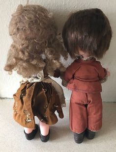 Vintage Pair Of FIBA Dolls Boy And Girl Marked Fiba VO7   eBay Vintage Dolls, Boy Or Girl, Pairs, Boys, Clothes, Fashion, Baby Boys, Outfits, Moda