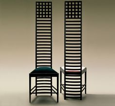 """""""Entre 1902 y 1904 Charles Rennie Mackintosh diseña la silla Hill House, lleva el mismo nombre que la casa por la cual fue construida"""""""
