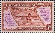 Tokelau 1948 First Issue SG 1 Fine Mint SG 1 Scott 1 Other Tolelau Stamps HERE
