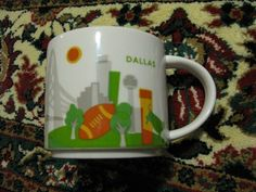 Starbucks Dallas You Are Here Collection NWT | eBay Starbucks Mugs, Dallas, Kitchen Ideas, Collections, Coffee, Gifts, Travel, Ebay, Products