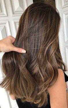 Brown Hair Balayage, Brown Blonde Hair, Brunette Hair, Hair Highlights, Summer Hairstyles, Pretty Hairstyles, Brown Hairstyles, Hairstyles Videos, Formal Hairstyles