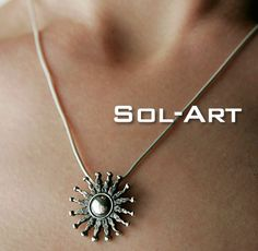 And the winner is .... sol-art silver #pendant by philippeplanas.com from #montreal #timeless #handcrafted #jewelry