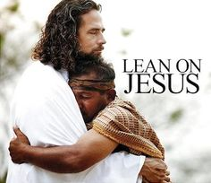 Safety and comfort in the arms of Jesus