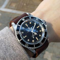 Good weather #vintagrolex #submariner #submariner5513 #5513 #natostrap #rolexpassionreport #serifdial by myohan79 #rolex #submariner
